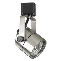 PLC Lighting TR23SN Slick 1 Light 120v Satin Nickel Track Light Ceiling Light