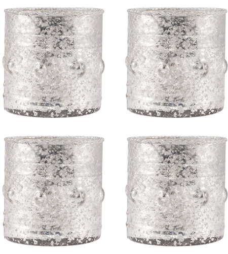 Pomeroy 394553/S4 Rivet 3 X 3 inch Candle Holder photo