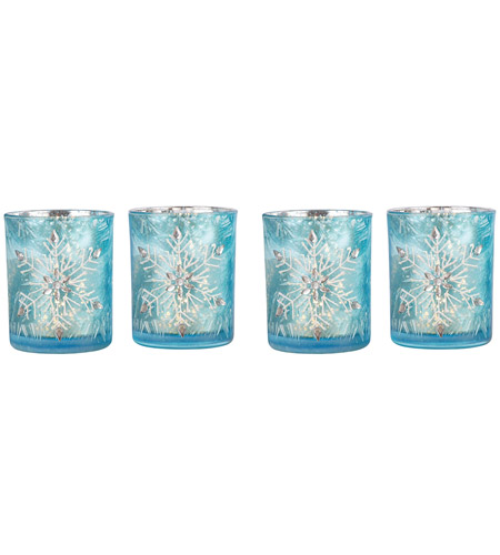 Pomeroy 394713/S4 Snowflake 4 X 3 inch Votive photo
