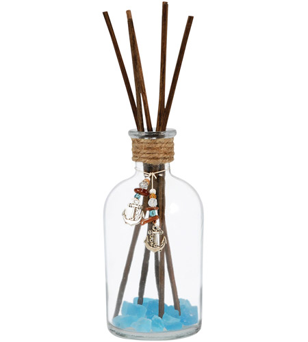 Pomeroy 728211 Spa Clear/Frosted Azure Reed Diffuser photo