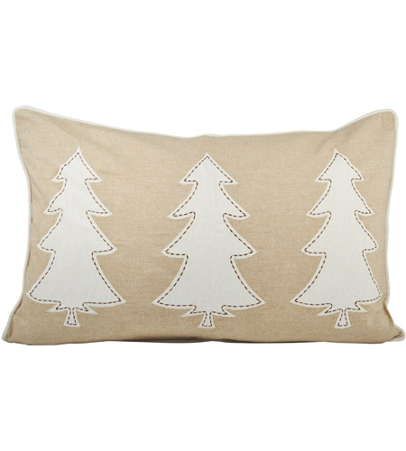 Pomeroy 905117 Winter Edge 26 inch Crema/Sand Pillow Cover photo