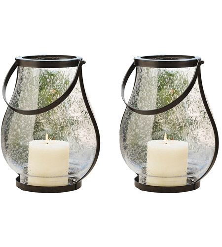 Pomeroy 915734/S2 Savanna 15 X 8 inch Clear Bubble Hanging Wall Lanterns photo