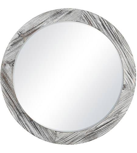Pomeroy 916748 Solis 34 X 34 inch Mirror/Weathered White Wall Mirror, Large photo