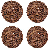 Rustic Charm Natural Sphere, Woven
