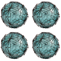 Camile Antique Turquoise Artifact and Rustic Spheres