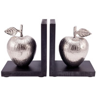 Pomeroy 015212/S2 Traditions 6 X 4 inch Black/Silver Bookend