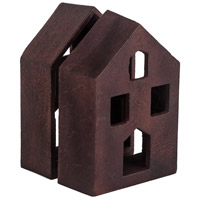 House 4 X 2 inch Montana Rustic Bookend