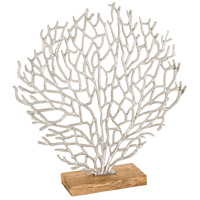 Fan Coral Silver with Natural Table Decor