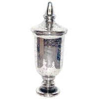 Versailles Antique Silver Jar
