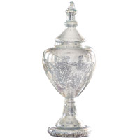 Cassia Antique Silver Holiday Apothecary Jar