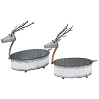 Winterbrigde Sawyer White Holiday - Seasonal, Reindeer