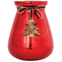 Bellville Antique Red/Natural Holiday - Seasonal, Large