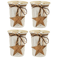 Jubilant 5 X 4 inch Votive Candle, Tall