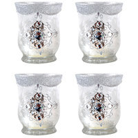 Gilded Ice 4 X 4 inch Votive, Large
