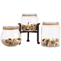 Edgewood Rustic/Clear Votive