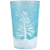 Snowlight Azure Votive