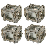 Edgewood 7 X 6 inch Votive, Square