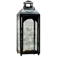 Prescott 6 inch Black Lantern Ceiling Light