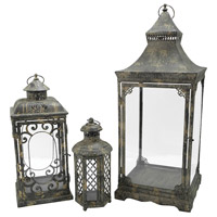 Jackson 5 inch Smoke Lantern Ceiling Light