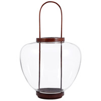 Ballantine 12 inch Montana Rustic/Clear Lantern Ceiling Light