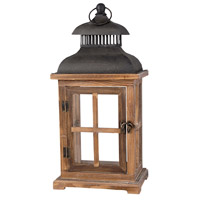Clifton 7 inch Aspen/Smoke Lantern Ceiling Light