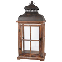 Clifton 11 inch Aspen/Smoke Lantern Ceiling Light