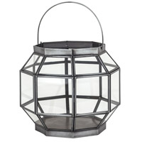 Helix Clear Outdoor Lantern, Small