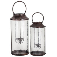 Pomeroy 404443/S2 Pierce 22 X 10 inch Clear Outdoor Lanterns
