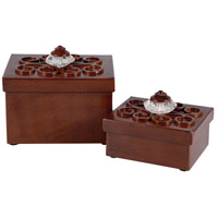 Pomeroy 406317/S2 Montana 6 X 4 inch Clear and Montana Rustic Box