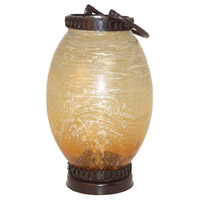 Sunset 9 inch Rustic Outdoor Lantern