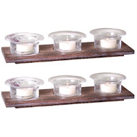 City Clear and Dark Palonia Lighting Tray