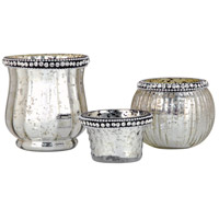 Sterlyn Antique Silver Votive