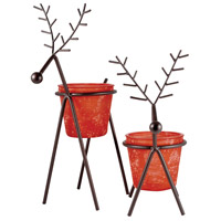 Reindeer Red Tierra/Rustic Holiday - Seasonal