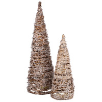 Artisan Natural/Clear Holiday Trees