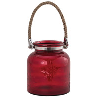 Starlit 8 X 7 inch Candle Lantern, Large