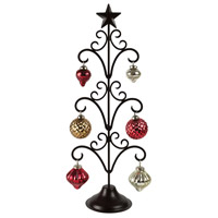 Pomeroy 519734 Northstar Antique Red and Gold Ornament Stand