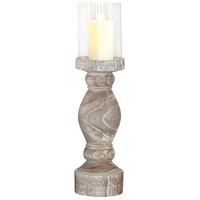 Monticello 30 X 9 inch Mantle Candle Hurricane