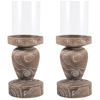 Timberline 16 X 6 inch Pillar Candle Holder