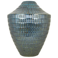 Malaya Textured Denim Vase