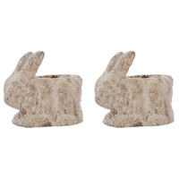 Cottontail Ancient Rust Outdoor Catchpots