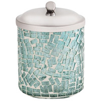 Pomeroy 556036 Sharad Azure and Silver Container