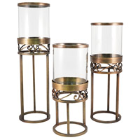 Tower Antique Brass/Clear Light