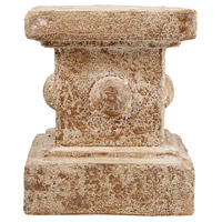 Monte 9 X 9 inch Ancient Rust Pedestal Home Decor