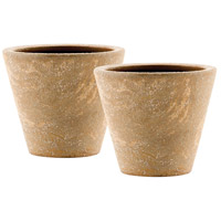 Pomeroy 565083/S2 Palatino Fossil Outdoor Planters