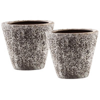 Pomeroy 565090/S2 Palatino Ancient Brown Outdoor Planters