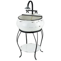 Freswick Colonial White Outdoor Fountain