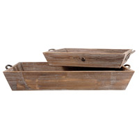 Americana Antique Paliona/Canyon Rustic Tray
