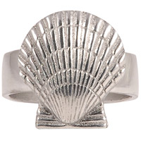 Pomeroy 609626 Shell Silver Napkin Ring photo thumbnail
