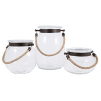 Watertown 10 X 7 inch Hanging Candle Lanterns
