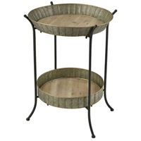 Pomeroy 609800 Rockefeller 22 inch Natural/Grey Accent Table photo thumbnail
